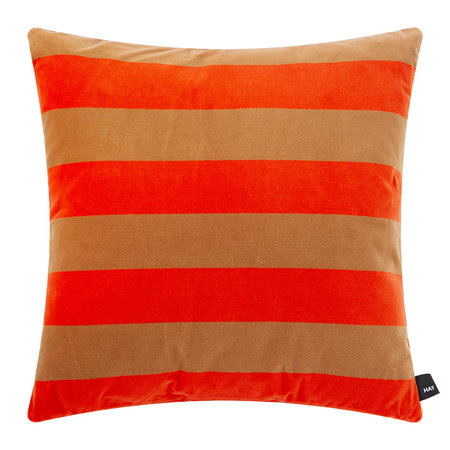 HAY - Soft Stripe Pillow - Red