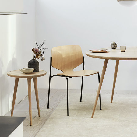 Mater - Accent Side Table - Oak - Small
