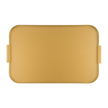 Kaymet - Metal Lap Tray - Gold