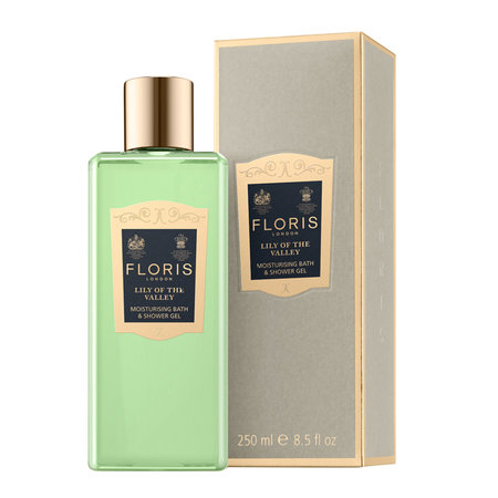 Floris London - Moisturizing Bath & Shower Gel - 250ml - Lily of the Valley