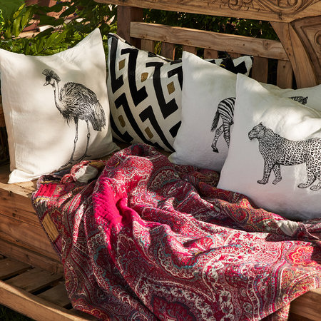 Lo De Manuela - Animal Pillow Cover - 40x60cm - Zebra