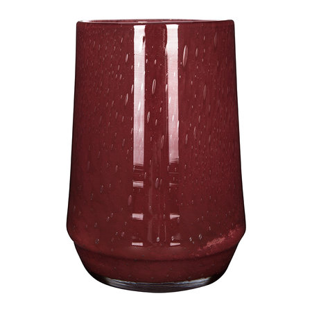 Henry Dean - Clemence Tall Vase - Red