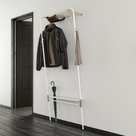 UMAGE - Lean On Me Clothes Rack - White