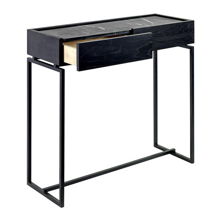 Serax - Marble Console with Drawer - Black