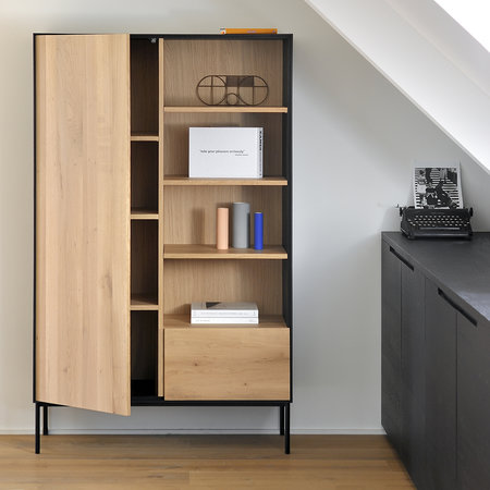Ethnicraft - Blackbird Storage Cupboard - Oak/Black