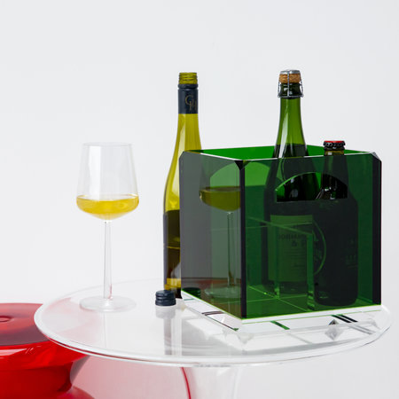 Mario Luca Giusti - Message in a Bottle Holder - Green
