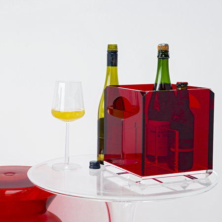 Mario Luca Giusti - Bottle Holder - Red