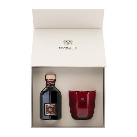 Dr Vranjes - Reed Diffuser and Candle Gift Set - Rosso Nobile