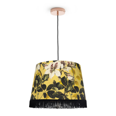 MINDTHEGAP - Yellow Garden Cone Ceiling Light - Large