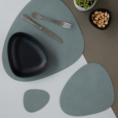 LIND DNA - Curve Table Mat - Light Blue - Small