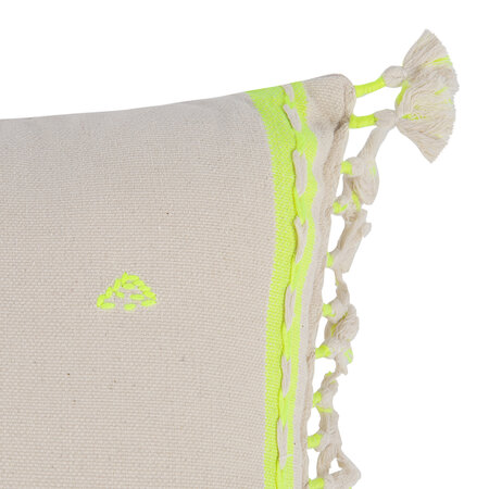 Anthropologie Home - Jodi Cushion - Neon