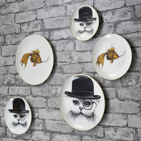 Rory Dobner - Perfect Plates - Cat in Hat - Small