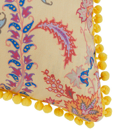Etro - Pertuis Dorgonne Pillow with Piping - 45x45cm - Yellow