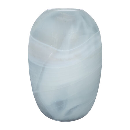 A by AMARA - Oval Patterned Glass Vase