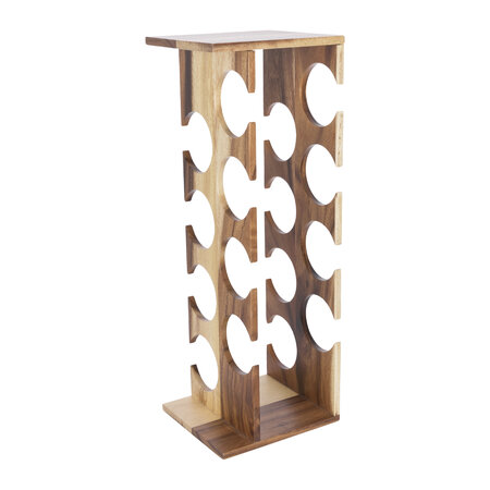 Global Explorer - Tower Wooden Wine Rack