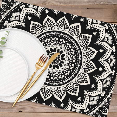 PODEVACHE - Abstract Printed Placemat