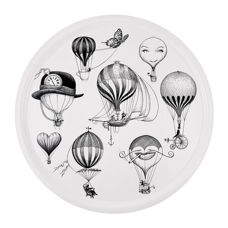Rory Dobner - Balloons Circular Tray - Supersize