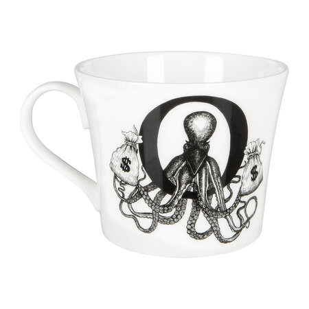Rory Dobner - Mighty Mugs - O - Outlaw Octopus Money Bags