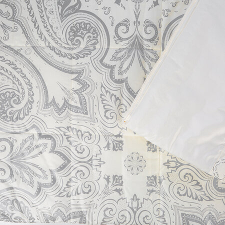 Etro - Avignone Poisson Panel Quilted Bedcover - 270x270cm - Beige