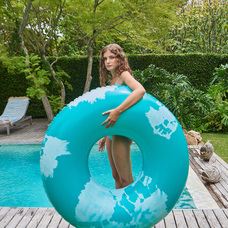 The Nice Fleet - Extra Large Inflatable Ring - Goa Green