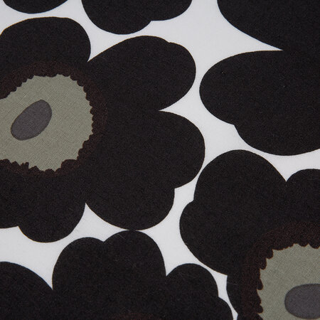 Marimekko - Unikko Tea Towel - Pack of 2 - White/Black