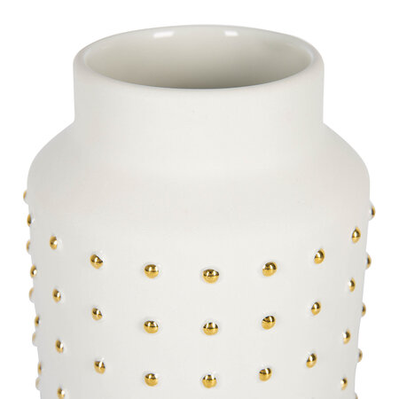 Luxe - Gold Dot Vase - Large