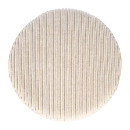 Retreat - Courduroy Pouf - Cream