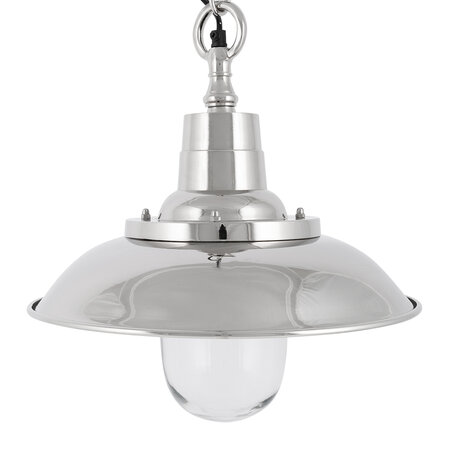 Luxe - Silver Industrial Pendant Light