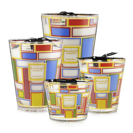 Baobab Collection - Ocean Drive Scented Candle - 24cm
