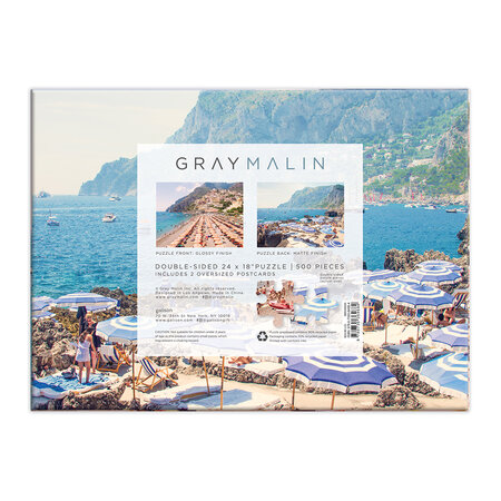 Gray Malin - 2 Sided Italy Puzzle - 500 Piece