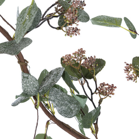 A by AMARA - Artificial Eucalyptus Garland With Berries