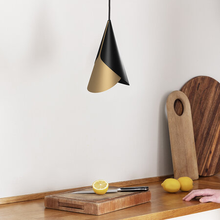 UMAGE - Cornet Lamp Shade - Black