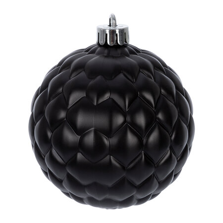 A by AMARA Christmas - Mixed Tree Decorations - Set of 25 - Black/Gold