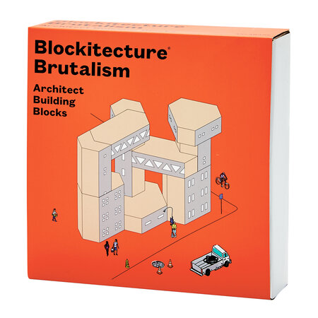 Areaware - Blockitecture Building Blocks - Brutalism