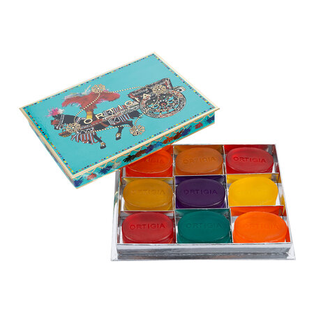 Ortigia - Assorted Glycerin Soap Gift Box - Turquoise