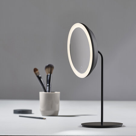 Zone Denmark - Magnifying Table Mirror - Black