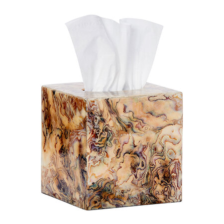 Pigeon & Poodle - Adana Tissue Box - Shell