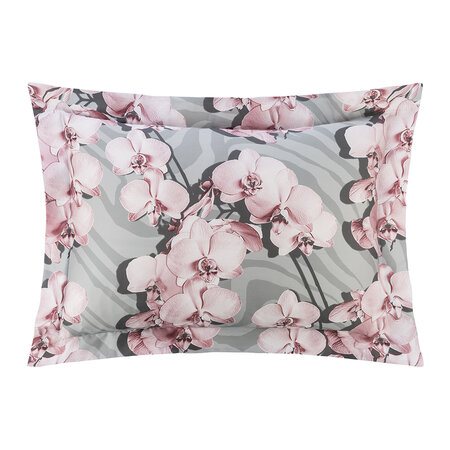 Roberto Cavalli - Divine Orchid Bed Set - Gray - King