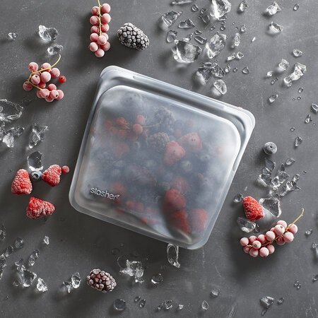 Stasher - Silicone Reusable Sandwich Bag - Clear