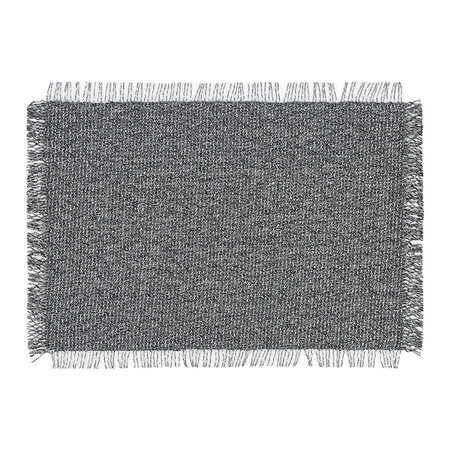 Chilewich - Market Fringe Rectangle Place Mat - Shadow