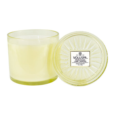 Voluspa - Peruvian Lime Jardin Maison Candle with Lid - Large