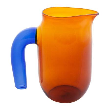 HAY - Jochen Holz Glass Pitcher - Amber - Small