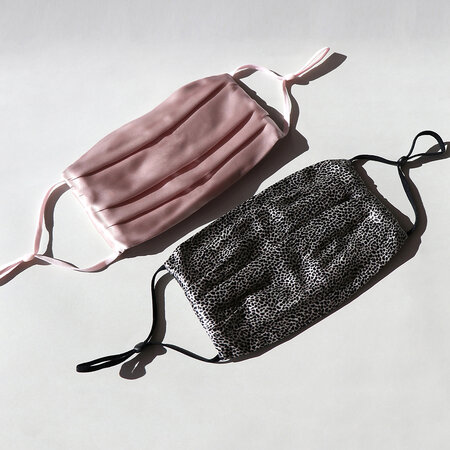 Slip - Silk Re-Usable Face Covering - Pink