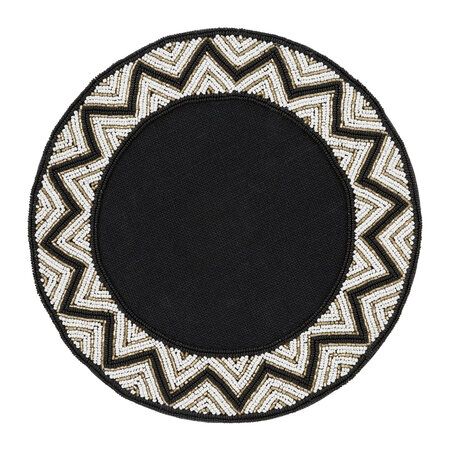 Luxe - Addison Beaded Placemats - Set of 2