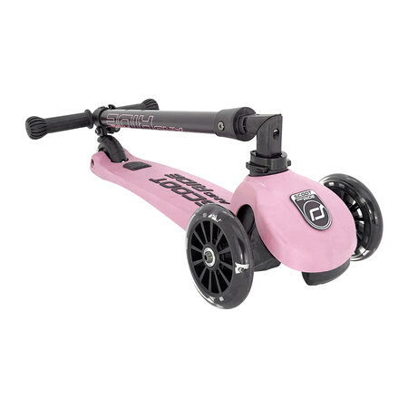 Scoot and Ride - Highway Kick 3 LED - Rose