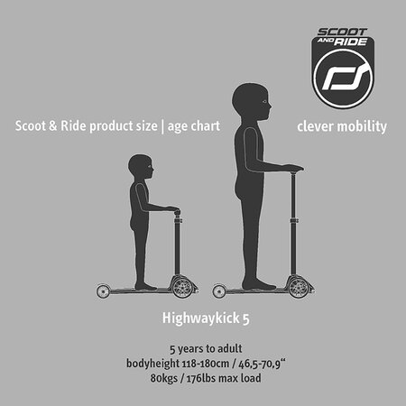 Scoot and Ride - Highway Kick 5 - Black