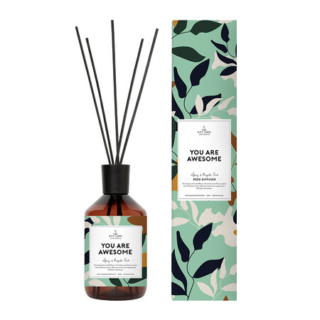 The Gift Label - Reed Diffuser - You Are Awesome