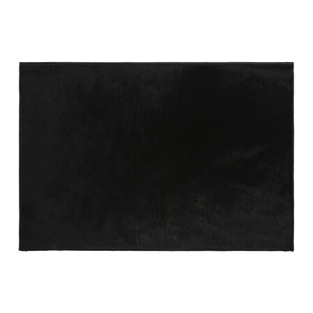 Luxe - Cowhide Placemats - Set of 2 - Black