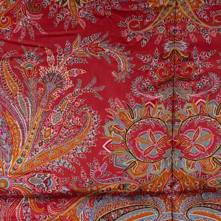 Etro - Exeter Cornovaglia Quilted Bedspread - 270x270cm - Red