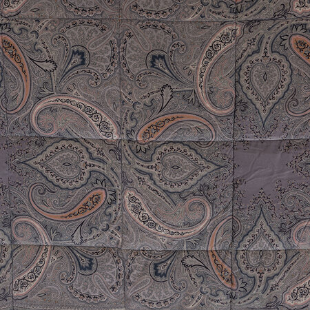 Etro - New Tradition Rishiri Quilted Bedspread - 270x270cm - Gray